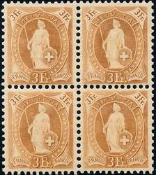 5655147: Schweiz Stehende Helvetia - Flugpostmarken