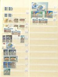 7090: Sammlungen und Posten Baltische Staaten - Engros