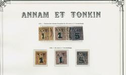 1705: Annam und Tongking - Sammlungen