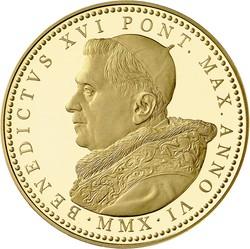 Europa - Italien - Vatikan - Euro Münzen  - Gold und Silbermünzen