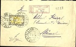 7090: Sammlungen und Posten Baltische Staaten