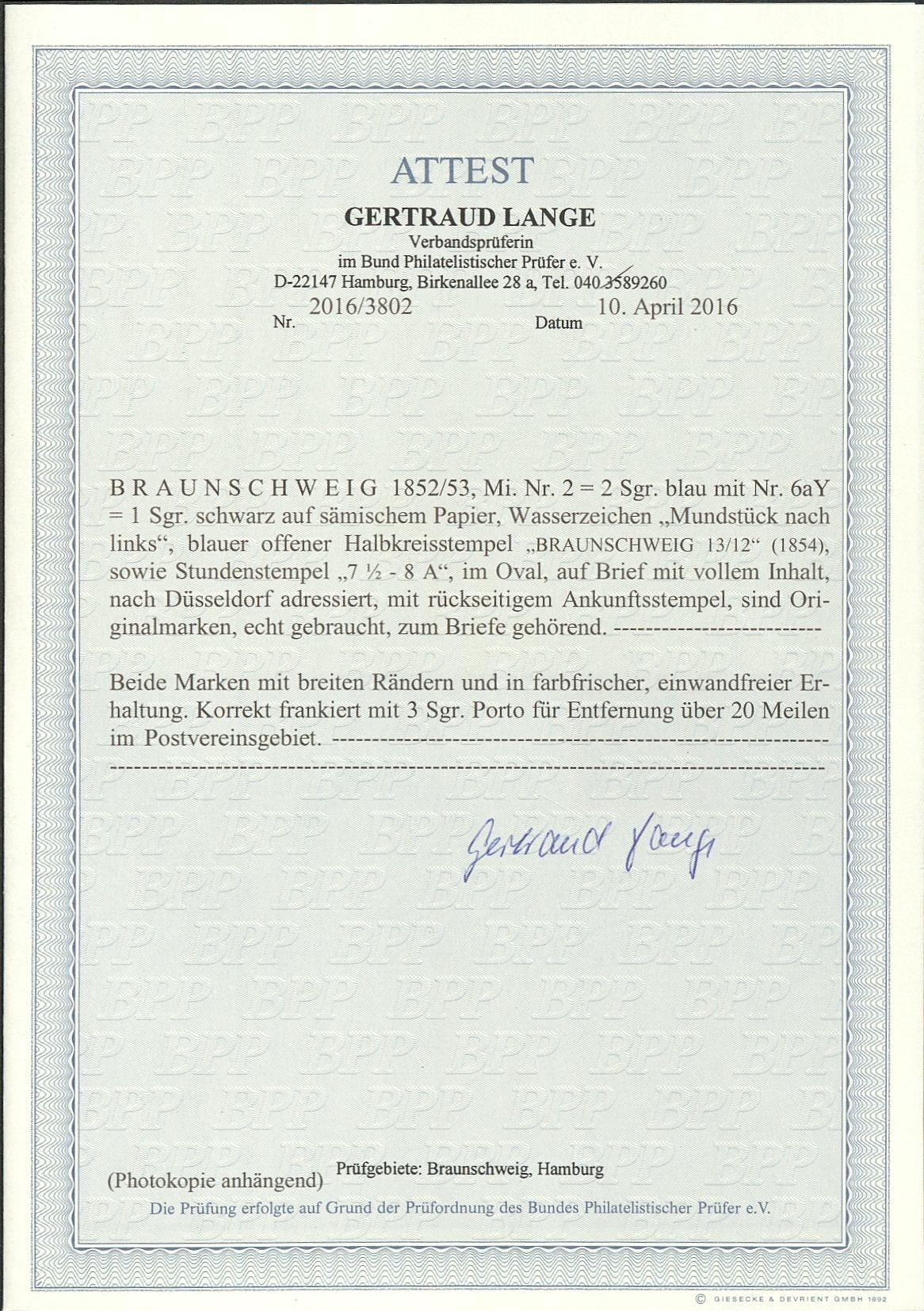 porto für briefe in deutschland 2019