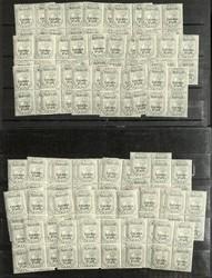 7460: Sammlungen und Posten Indische Staaten - Dienstmarken