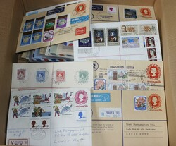 7140: Collections and Lots British Commonwealth General - Covers bulk lot