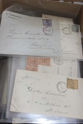 7380: Collections and Lots South America - Covers bulk lot