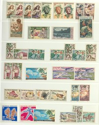 2735: French Polynesia - Collections