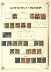 6045: St. Pierre et Miquelon - Collections