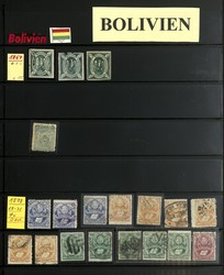 1905: Bolivia - Collections