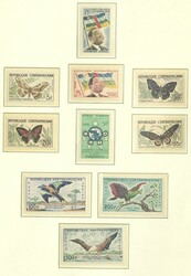 6740: Central Africa Republic - Collections