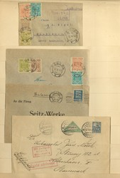 7090: Collections and Lots Baltic States - Postal stationery