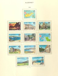 1655: Alderney - Collections