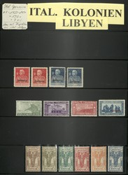 7170: Collections and Lots Italian Colonies - Collections