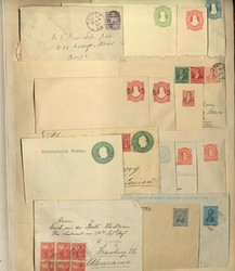 7355: Collections and Lots Oversea countries - Postal stationery