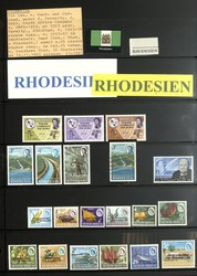 5355: Rhodesia - Collections
