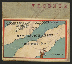 3980: Colombia Compania Colombiana de Navegacion Aérea - Airmail stamps