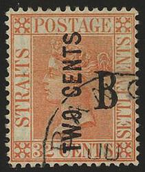 4245: Malaya Straits Settlement Post in Bangkok