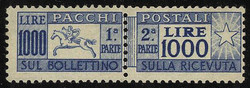3415: Italy - Parcel stamps