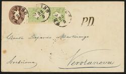 4770: Lombardy Venetia - Postal stationery