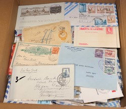 7375: Collections and Lots Central America - Postal stationery