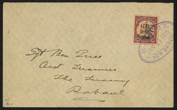 170: German New Guinea British Occupation