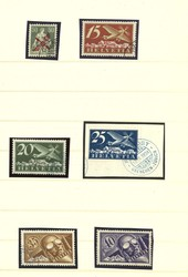 5659: Switzerland Airmail Issues - Collections