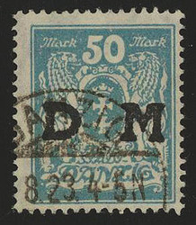 340: Danzig - Official stamps