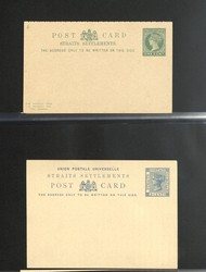 7140: Collections and Lots British Commonwealth General - Postal stationery
