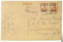 360: German Occupation World War I Belgium - Postal stationery