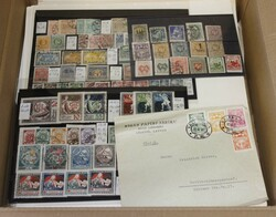 7090: Collections and Lots Baltic States - Stamps bulk lot