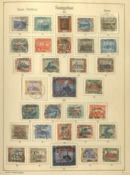 7017: Collections and Lots German Occupation I. Worldwar - Collections