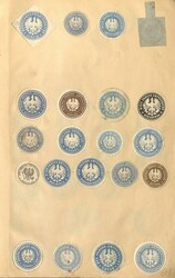 7960: Lots and Collections Vignettes and letter seals - Collections