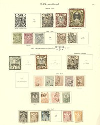 3330: Persia - Iran - Collections