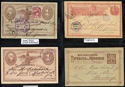 7375: Collections et post Amérique centrale - Postal stationery
