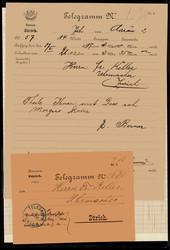 4745: Österreich - Telegrafenmarken