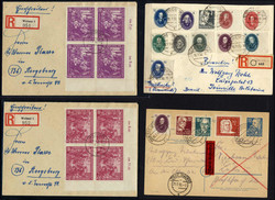 1380: German Democratic Republic - Covers bulk lot