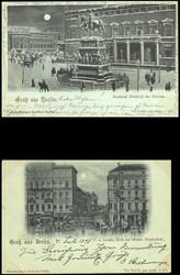 101000: Deutschland West, Plz Gebiet W-10, 100 Berlin - Postkarten