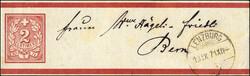 190010: Schweiz, Kanton Aargau - Ganzsachen