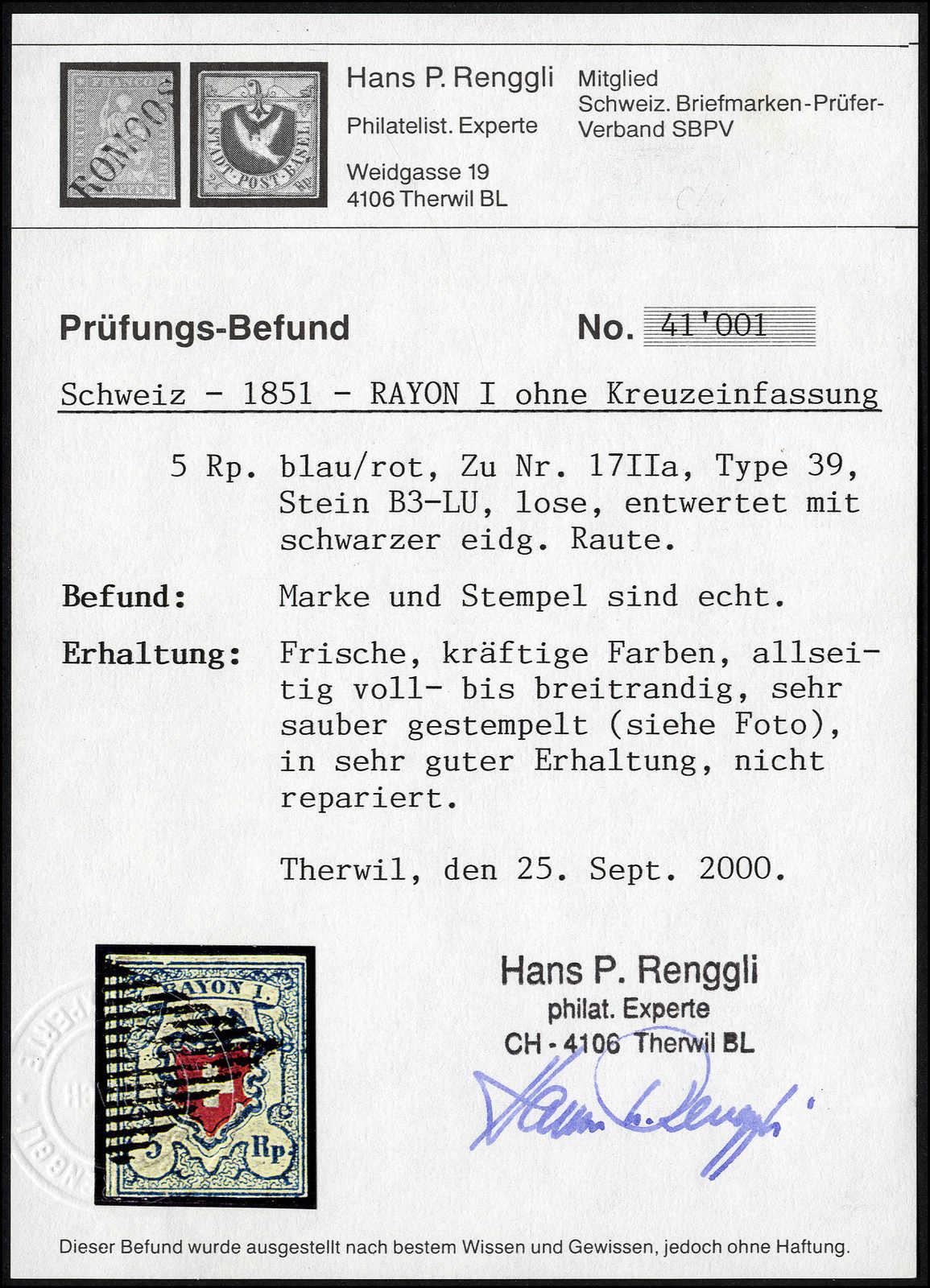 Lot 23 - sammlungen und posten sammlungen und posten altschweiz -  Rolli Auctions Auction #68 Day 1