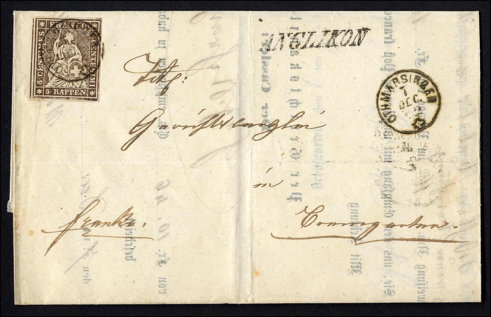 Lot 75 - sammlungen und posten sammlungen und posten altschweiz -  Rolli Auctions Auction #68 Day 1