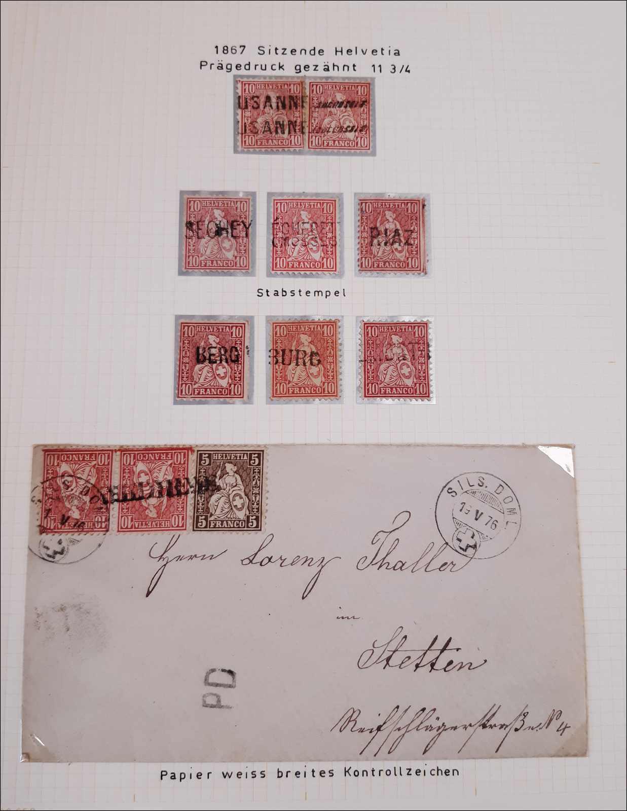 Lot 85 - schweiz schweiz -  Rolli Auctions Auction #68 Day 1