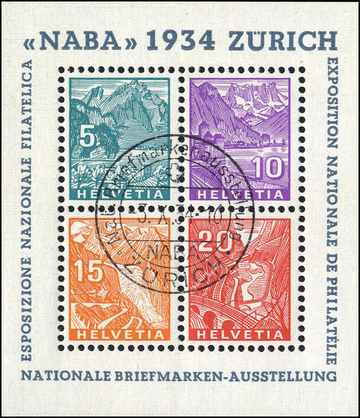 Lot 213 - schweiz Schweiz Blöcke -  Rolli Auctions Auction #68 Day 1
