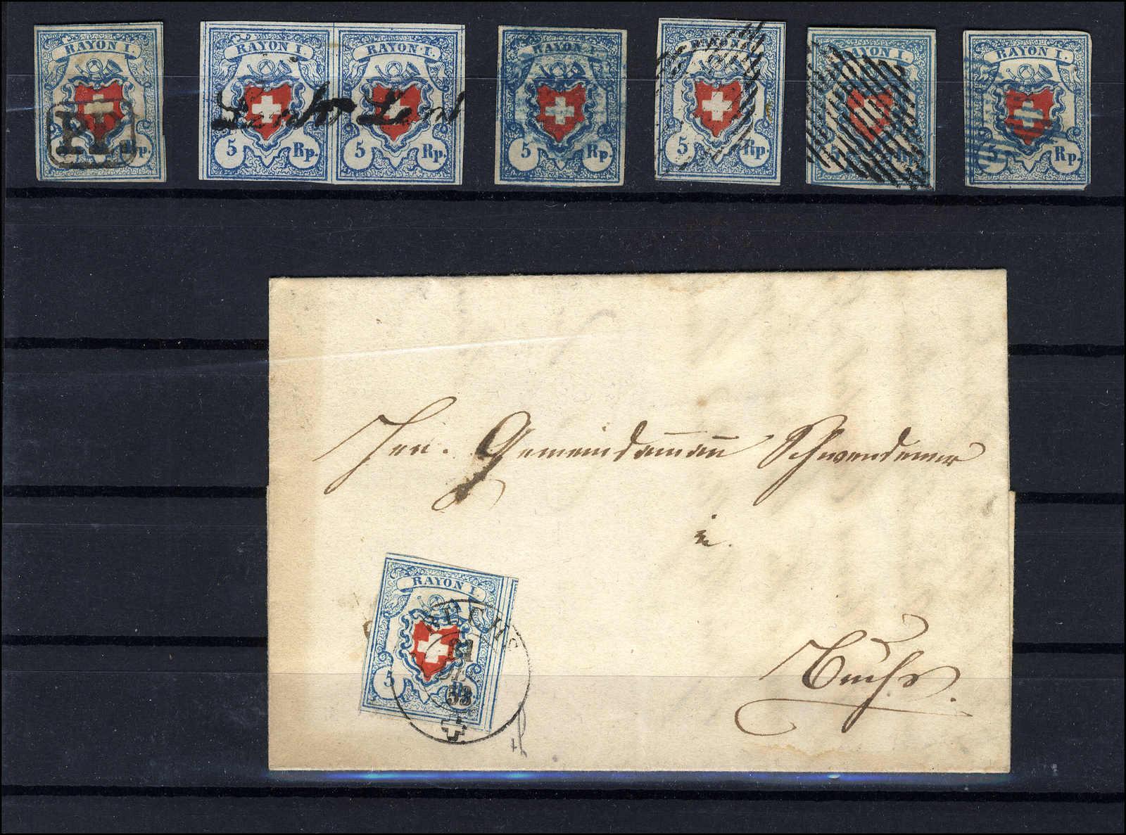 Lot 35 - sammlungen und posten sammlungen und posten altschweiz -  Rolli Auctions Auction #68 Day 1