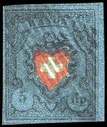 5655096: Rayon I, dunkelblau ohne Kreuzeinfassung