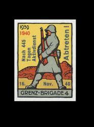 5711040: Schweiz Soldatenmarken Grenztruppen