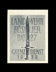 5711045: Schweiz Soldatenmarken Infantrie