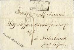 5655010: Schweiz Vorphilatelie - Briefe Posten