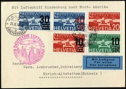 983510: Zeppelin, Zeppelin Mail LZ 129 ,North America Flights