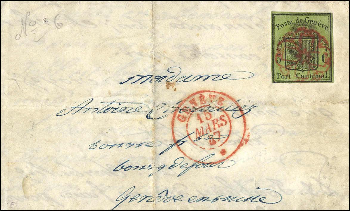 Lot 1009 - schweiz schweiz kantone genf -  Rolli Auctions Auction #68 Day 2