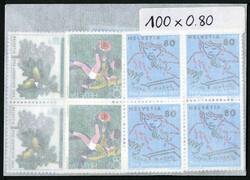 7999: Schweiz - Lot Nominale