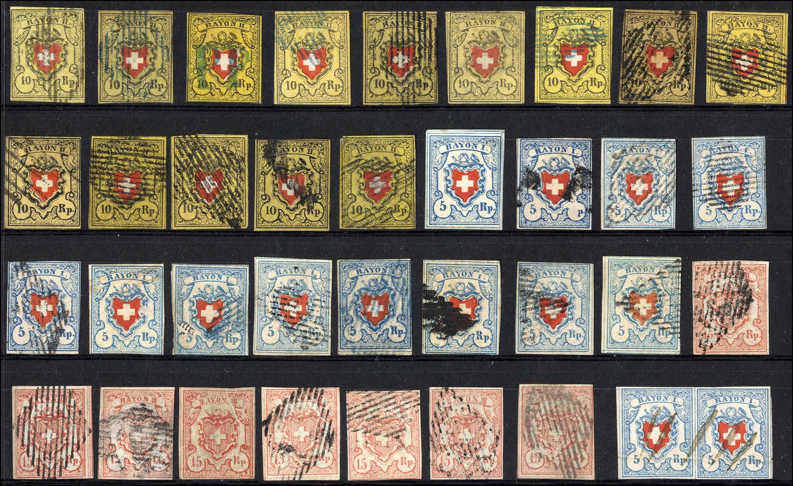 Lot 22 - sammlungen und posten sammlungen und posten altschweiz -  Rolli Auctions Auction #68 Day 1